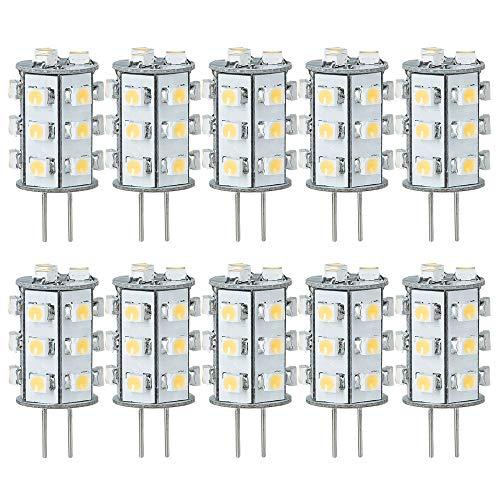 10 x Paulmann LED Leuchtmittel Stiftsockellampe 1W G4 12V warmweiß 3000K