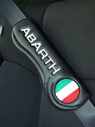 Ti El Es Gurtschoner Sicherheitsgurt Polster Auto PKW Gurt - FIAT Abarth - 2 STK