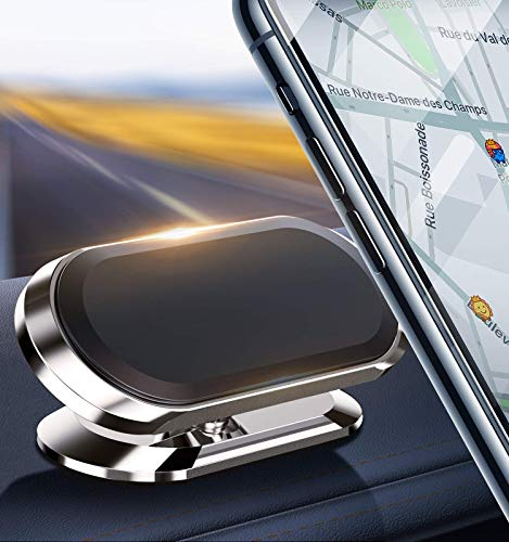 Car Phone Mount Holder Magnetic【Upgraded 8 Strong Magnets】With 360° Rotation, Universal Magnetic Mobile Phone Holders Air Vent Cradle, Compatible with iPhone 12 11 XS Plus Samsung S20 S10 Note 9 etc
