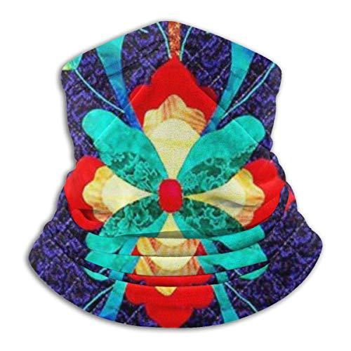 Patrón tradicional noruego cara bufanda cubierta cuello multiuso polaina sombreros para viento UV protección solar-da5