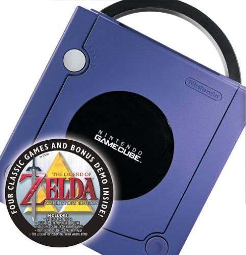 GameCube Console - Legend of Zelda Bundle - Indigo