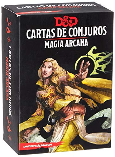 Dungeons & Dragons Magia Arcana-Cartas de Conjuros-Castellano, Color (Edge Entertainment EEWCDD80)