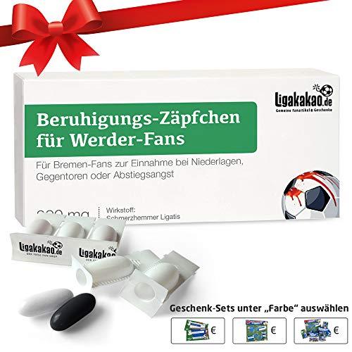 Alles für Bremen-Fans by Ligakakao.de Geschenk männer ist jetzt BERUHIGUNGS-ZÄPFCHEN