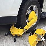 BALLSHOP Radkralle Diebstahlsicherung Reifenkralle PKW Wegfahrsperre Anhänger Auto Sicherung