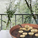 Wind Chime Chimes Water Bell Fountain Copper Bowl Brass Bells