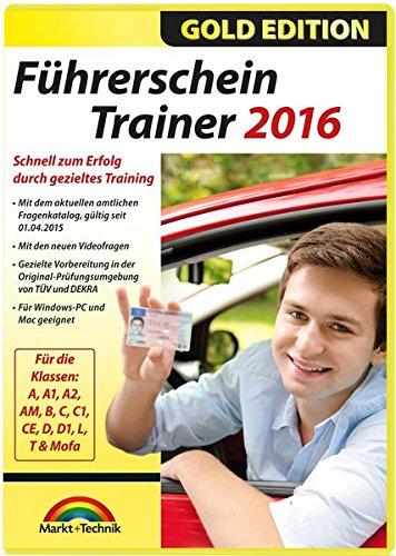 Führerschein Trainer 2016, CD-ROM