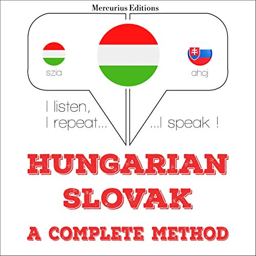 Couverture de Hungarian – Slovak. A complete method