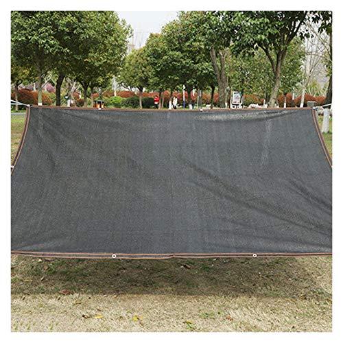 AWSAD Malla Sombreo, Cifrado Negro y Engrosamiento Tela Sombra, Adecuado para Cocheras Y Patios Al Aire Libre, 15 Tamaños (Color : Negro, Size : 3x6m)