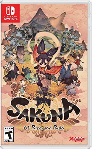 Sakuna: Of Rice and Ruin (輸入版:北米) – Switch