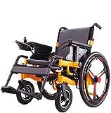 Huiiv Sillas de Ruedas eléctricas Plegables para sillas de Ruedas eléctricas