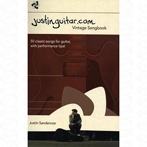 Justin Guitar. com–Vintage Songbook–Arreglados para guitarra [de la fragancia/Alemán] Compositor: sandercoe Justin