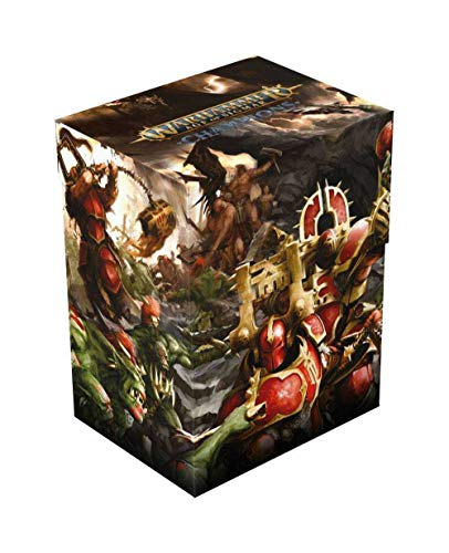 Ultimate Guard Warhammer Age of Sigmar: Champions Basic Deck Case 80+ Standard Size Chaos vs. D