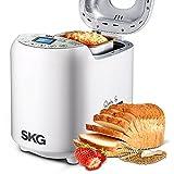 SKG Automatic Breadmaker 2LB - Beginner Friendly Programmable Bread Maker