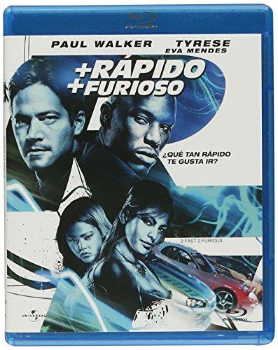 Mas Rapido Mas Furioso(2 Fast, 2 Furious)  (la portada puede variar) [Blu-ray]