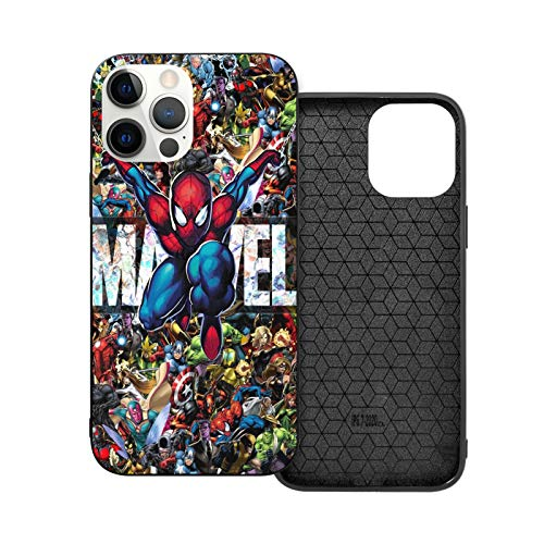 American Superhero iPhone 11 Case 6.1',TPU Soft Slim Protective Back Cover for Women Men Girls Boys Teens Youth (Spider-Man)
