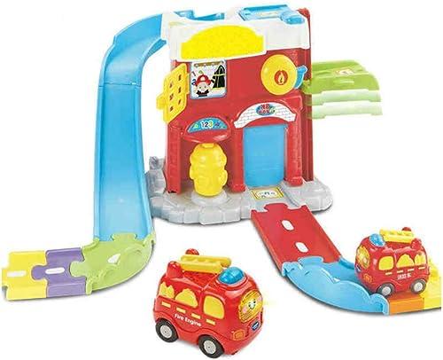 LINGLING-Piste Cadeau pour Enfants Trolley Track Glide Boy Toy 2-6 Ans (Taille   L)