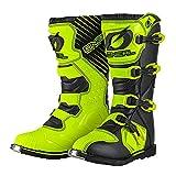 O'NEAL Rider - Botas de motocross para hombre, para motocicleta, quad y todoterreno, color amarillo, color, talla 47 EU