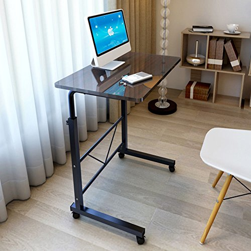 73-92cm Altura Ajustable Mesa de Computadora Portátil Escritorio ...
