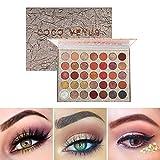 KARLOR 35 Farben Lidschatten Palette 35 color Schatten-Palette Make Up Palette für Augen Schminken...