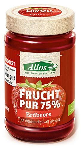 Allos - Bio Frucht Pur 75% Erdbeere Fruchtaufstrich - 250g