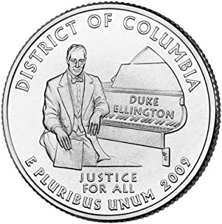 2009 D District of Columbia State Quarter Uncirculated