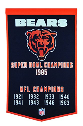 Winning Streak NFL Chicago Bears Dynasty Banner