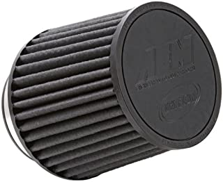 AEM 21-203BF Universal DryFlow Clamp-On Air Filter: Round Tapered; 3 in (76 mm) Flange ID; 5.125 in (130 mm) Height; 6 in (152 mm) Base; 5.125 in (130 mm) Top
