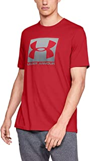 Under Armour Men's Ua Boxed Sportstyle Short Sleeve Stylish and Comfortable T Shirt for Men, Breathable Gym and Fitness Cl...