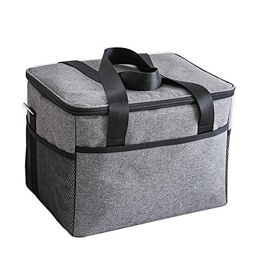QQWJSH Picknickkühler Eisbeutel 18L Tragbarer Kühlraumbeutel 28L Dicke Wärmedämmung Meeresfrüchte 10L Lunchbox-Beutel mit großem Fassungsvermögen