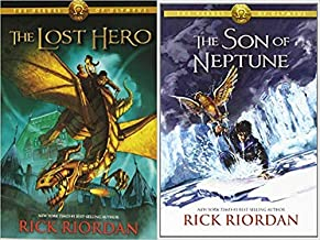 First 2 books collection of heroes of Olympus (Lost Hero is paperback & Son of Neptune is Hardcover)