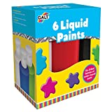 Galt Toys, 6 Liquid Paints, Ready Mix Paint For Children, Ages 3 Years Plus
