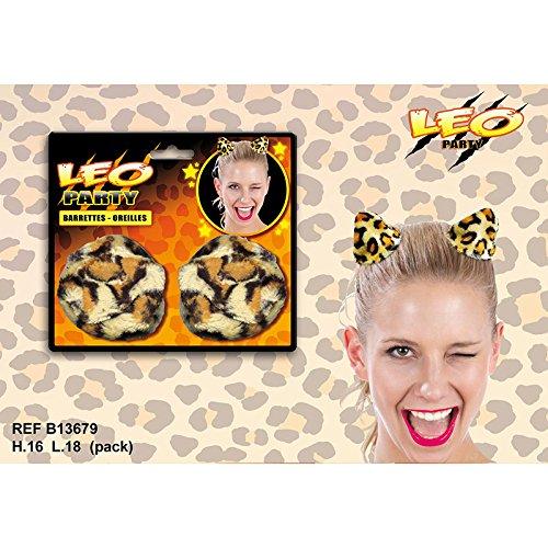 Barettes oreilles - Collection léopard
