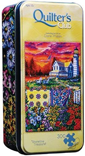 Shoreline Treasures by Diane Phalen, 300-pc Jigsaw in Collector Tin by masterpiecesinc