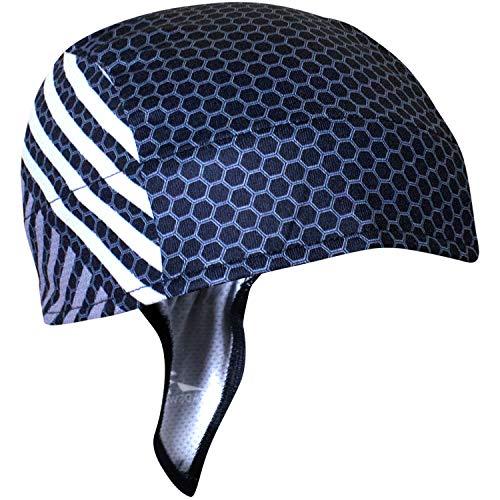 Headsweats Repreve Cycling Cap (Black Honeycomb)
