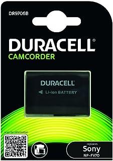 Duracell DR9706B Li Ion Camcorder Ersetzt Akku für NP FV70