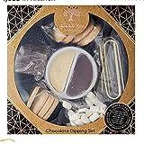 Set de regalo de chocolate con leche y chocolate blanco, perfecto para una cita nocturna o para compartir con amigos