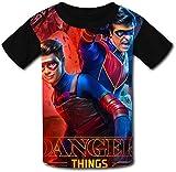 YYdg Niños Niños Niñas Camiseta He-nRY da-NG-eR Niños Niñas Camiseta Gráfica Manga Corta Blusa Top Blusa