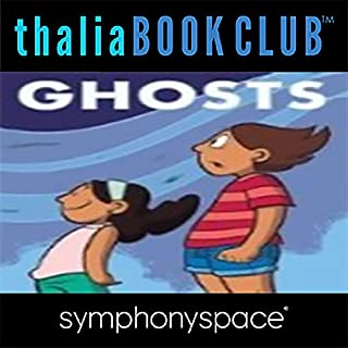 Thalia Kids' Book Club: Raina Telgemeier Ghosts audiobook cover art