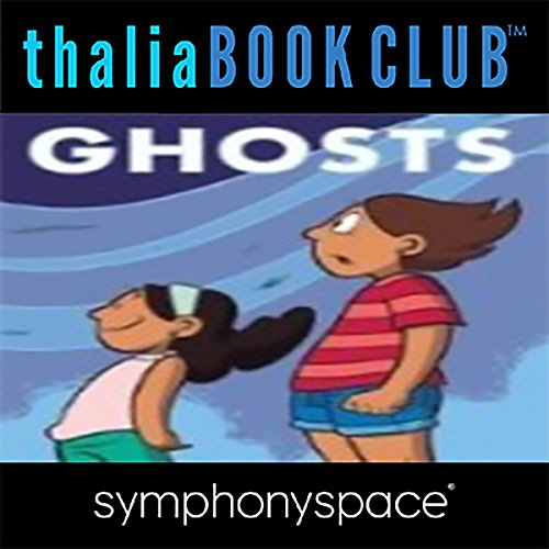 Thalia Kids' Book Club: Raina Telgemeier Ghosts audiobook cover art