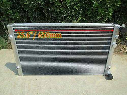 Radiador de aluminio de Para AU-DI A3 8L1 TT V-W GOLF MK4 JETTA BORA 1.9TDI GTI FSI SEAT LEON 1.8T 1997-2006