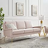 GGAA Sofa Couch Sofa Sofa Bed Chesapeake, Gold Navy (Color : Gold Pink)