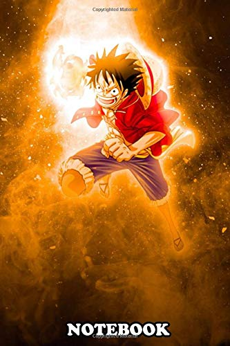 Notebook: Luffy One Piece , Journal for Writing, College Ruled Size 6' x 9', 110 Pages