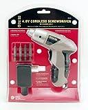 GreatNeck 80129 4.8-Volt Cordless Screwdriver