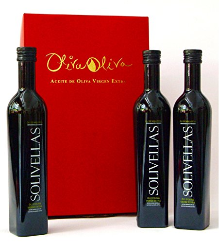 3 x Olivenöl Solivellas 500 ml