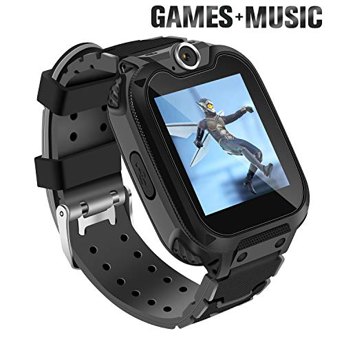 Ralehong Smart Watch for Kids with 7 Puzzle Games Music Camera Two-Way Call SOS for 3-14 Years Girls Boys,1.54-inch Color Large Touch Screen for Children Birthday Christmas New Year Gift