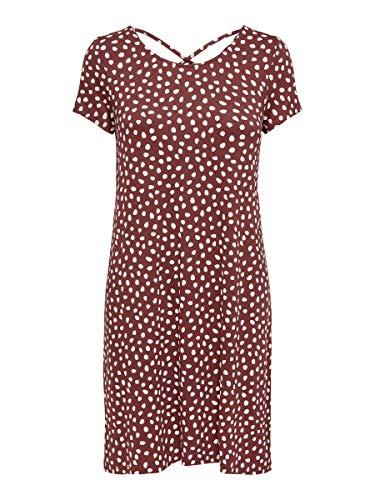 ONLY Female Kleid mit kurzen Ärmeln Lässiges LHenna