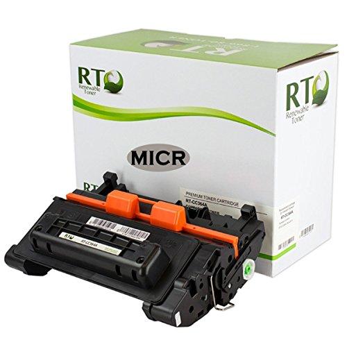 Renewable Toner Compatible MICR Toner Cartridge Replacement for HP CC364A 64A Laserjet P4014 P4015 P4515