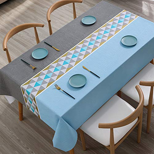 sans_marque Tablecloth, washable table cover that can be used to decorate the kitchen table and countertop buffet, and can be scrubbed tablecloth140*160cm