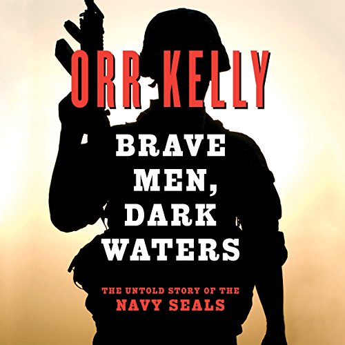 Brave Men Dark Waters audiobook cover art