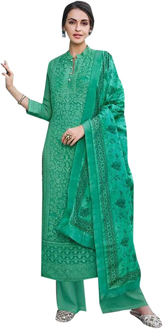 9327 Ready to Wear Indian Faux Georgette Suit Pakistani Punjabi Party Salwar Kameez Traditional Women